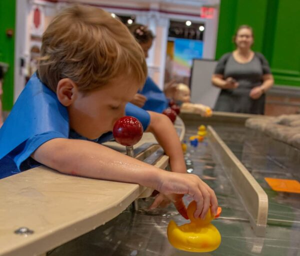 Water table at the Please Touch Museum in Philadelphia, Pennsylvania