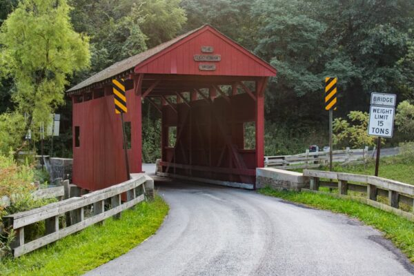 Leatherman Covered Bridge near Pittsburgh