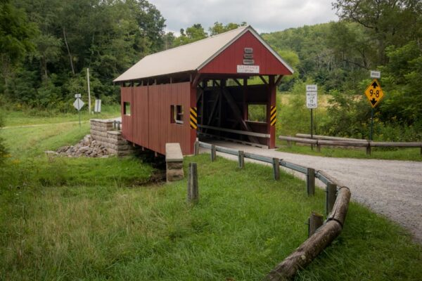Mays Covered Bridge in Washington County, PA