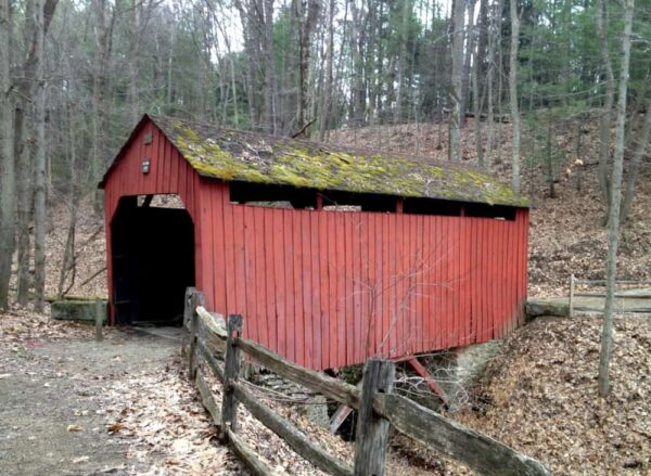 Pine Bank Covered Bridge at Meadowcroft Rockshelter