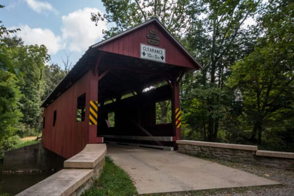 Sawhill Covered Bridge near Washington, Pennsylvania