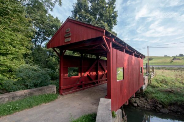 Wright Covered Bridge in Washington County, Pennsylvania