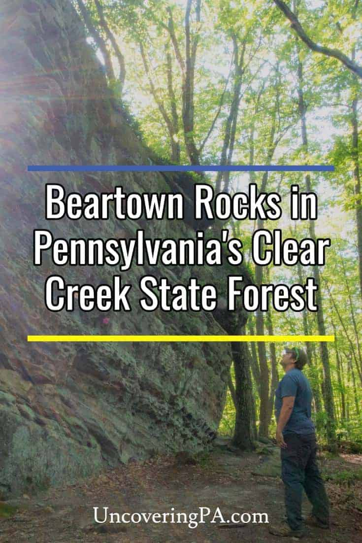Exploring Beartown Rocks in Pennsylvania's Clear Creek State Forest
