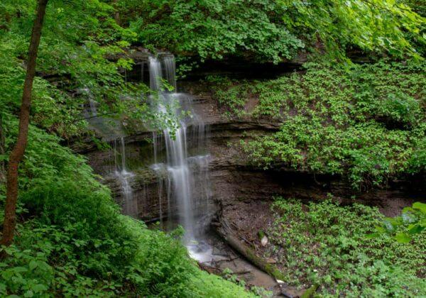 Braddock's Falls near Pittsburgh, PA
