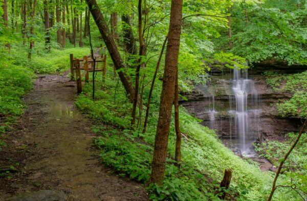 Braddock's Falls is one of the closest waterfalls to Pittsburgh.