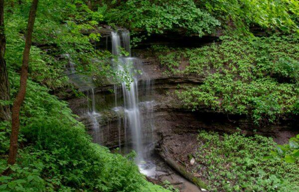 Braddocks Trail Park near Pittsburgh, PA
