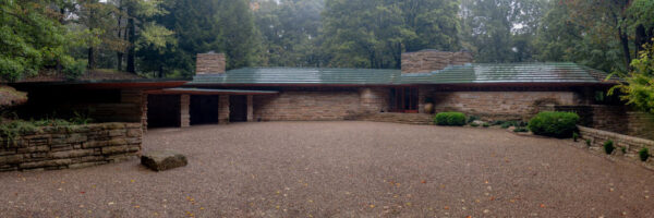 Exterior of Kentuck Knob, one of Frank Lloyd Wright's Homes