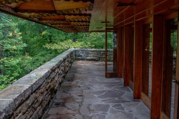 Kentuck Knob porch