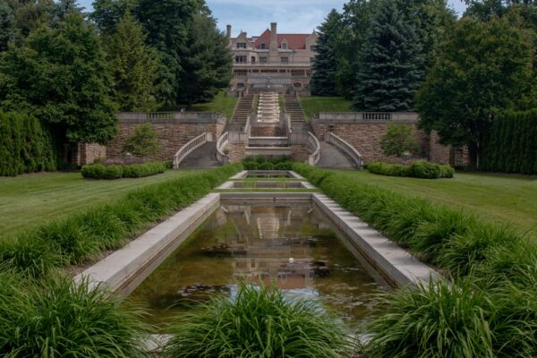 The Mount Assisi Gardens at St. Francis University in Loretto PA