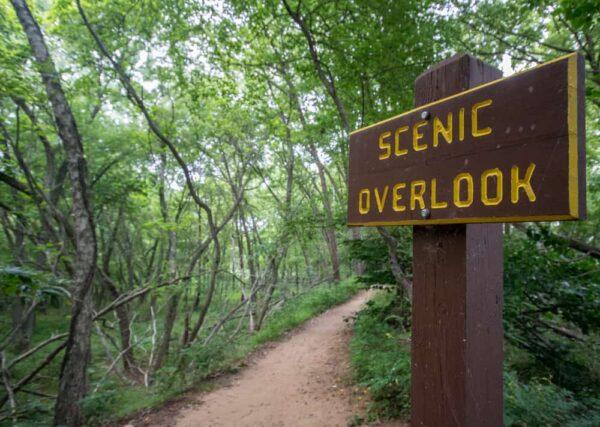 Scenic overlook at Neshaminy State Park
