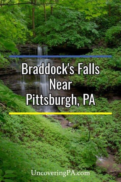 Braddocks Falls near Pittsburgh