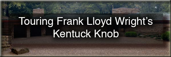 Touring Frank Lloyd Wright's Kentuck Knob