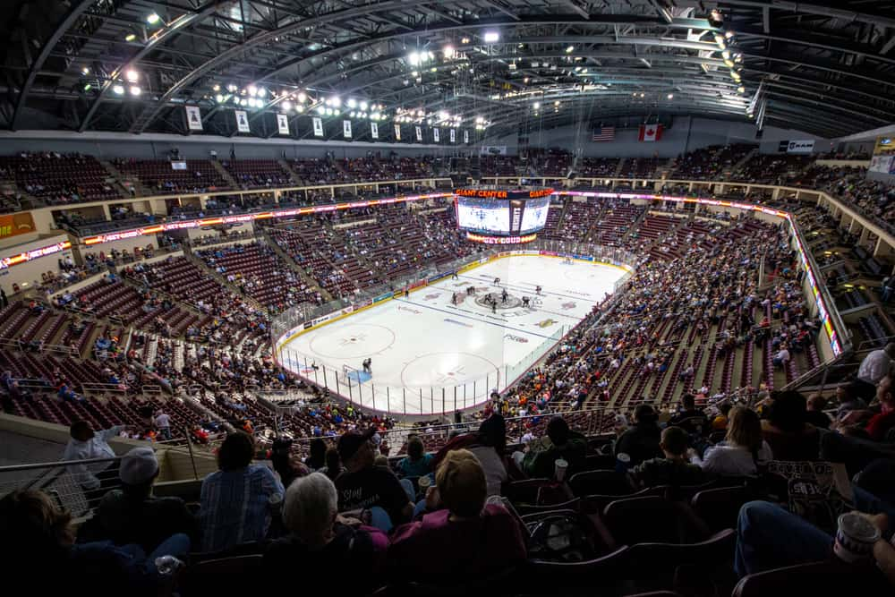 Hershey Bears Hockey Game