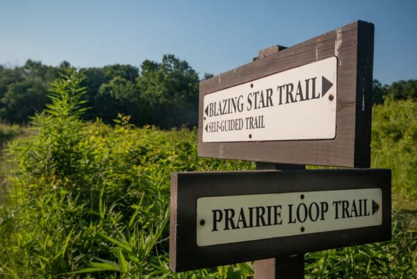 Hiking the Prairie Ecosystem in Jennings State Park