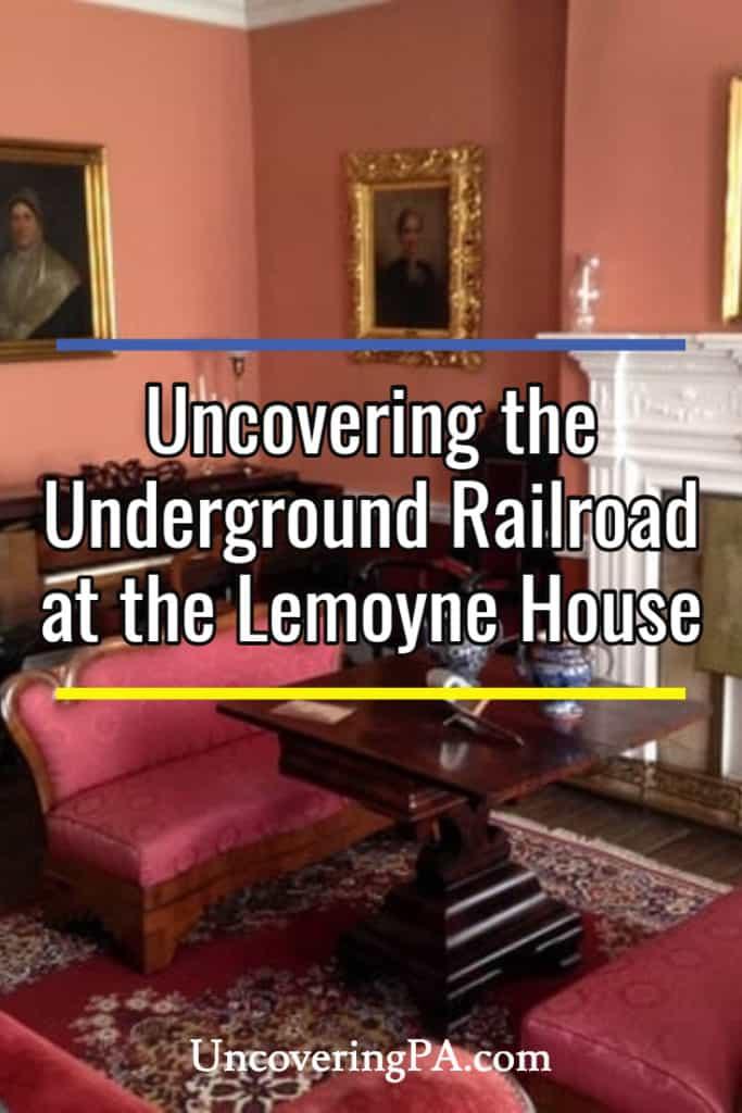 Touring the Lemoyne House in Washington, PA