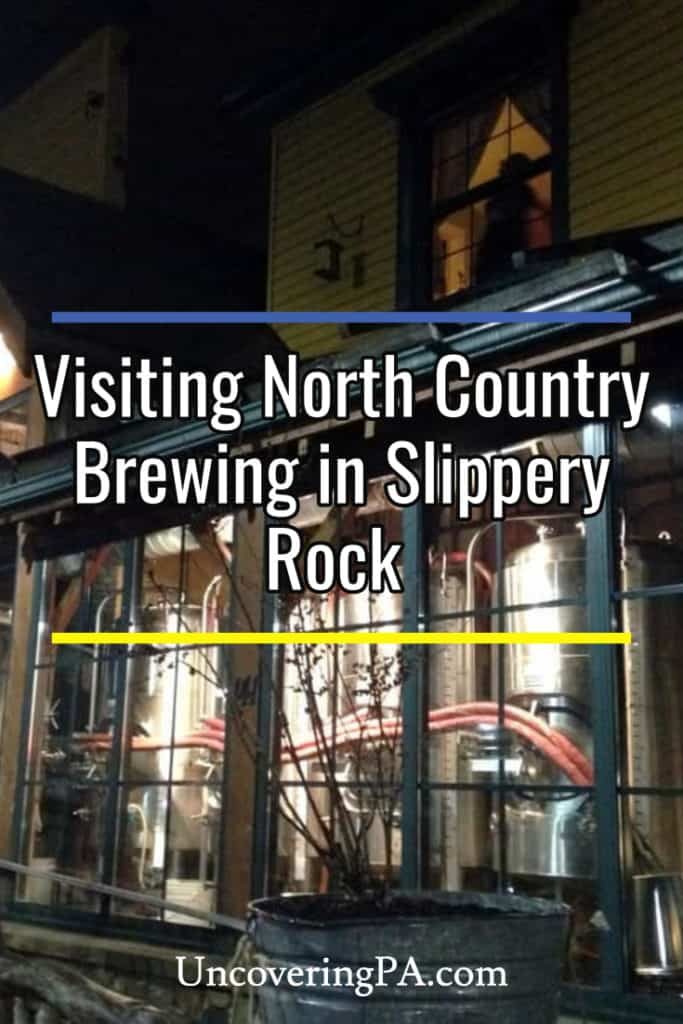 Review of North Country Brewing in Slippery Rock, Pennsylvania