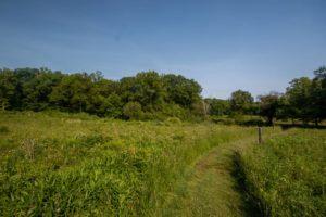 Hiking at the Jennings Environmental Education Center
