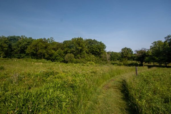 Hiking at the Jennings Environmental Education Center in Butler County, PA