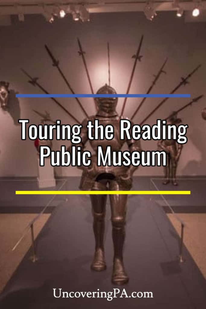 Touring the Reading Public Museum in Reading, Pennsylvania