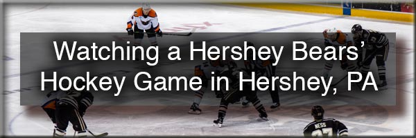 Attending a Hershey Bears' Hockey Game
