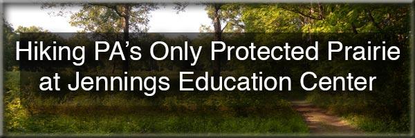 Hiking at Jennings Environmental Education Center