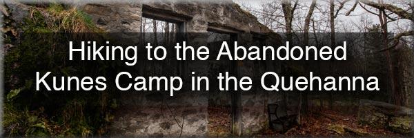 Kunes Camp in the Quehanna Wild Area