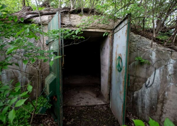 The Alvira Bunkers are one of the most interesting abandoned places in PA to explore.