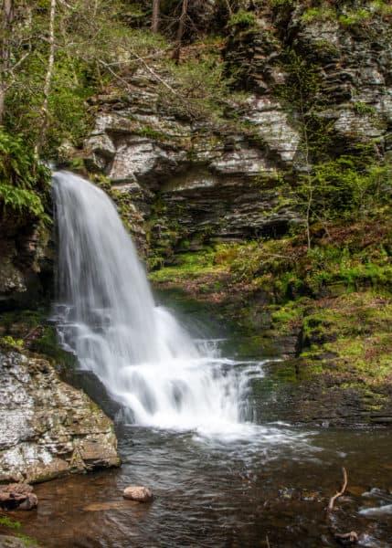 Bridesmaid's Falls in the Poconos