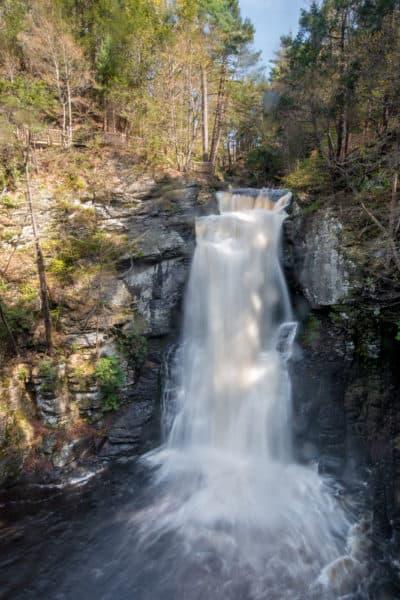 Bushkill Falls in Pennsylvania