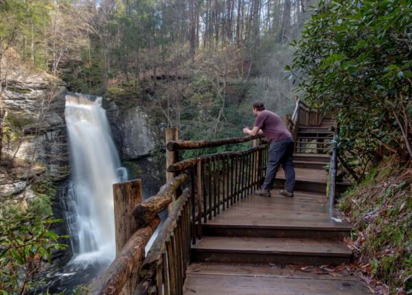 Bushkill Falls is a beautiful spot that's only a short drive from Philly