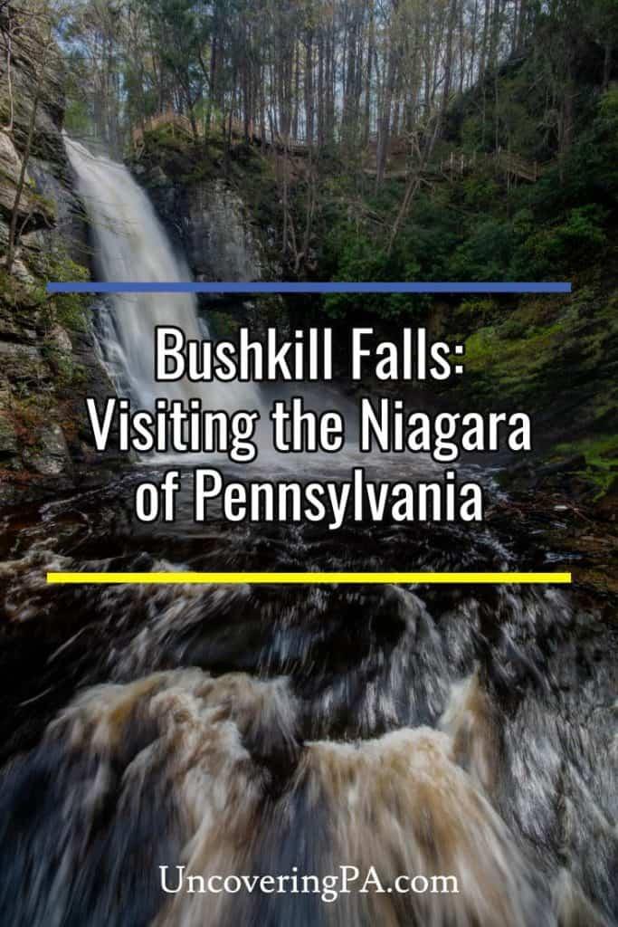 Bushkill Falls in PA