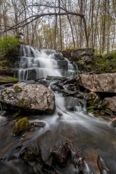 Camp Hidden Falls in the Delaware Water Gap