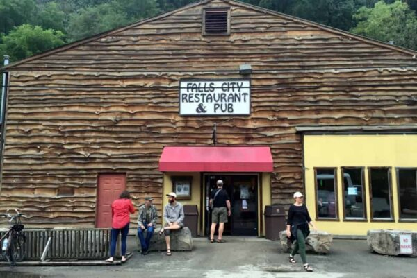 The Falls City Pub is one of the best Ohiopyle Restaurants