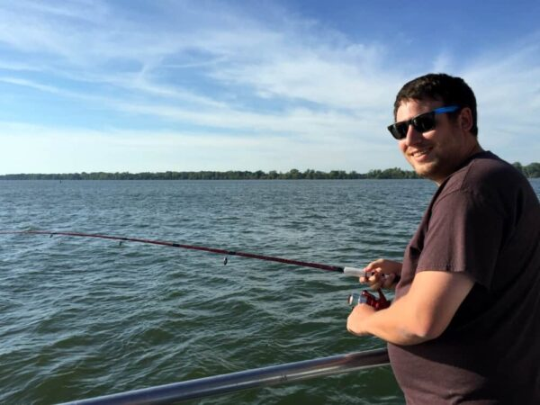 Fishing at Presque Isle State Park