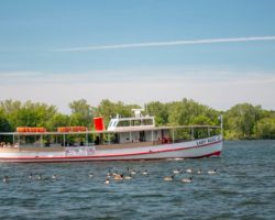 Taking a Presque Isle Boat Tour on the Lady Kate