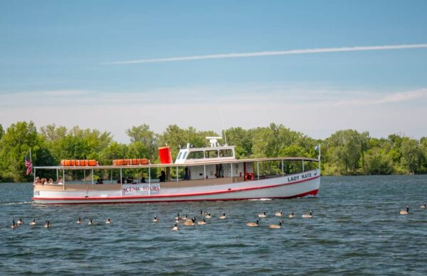 Take a Presque Isle Boat Tour when looking for what to do in Erie, PA