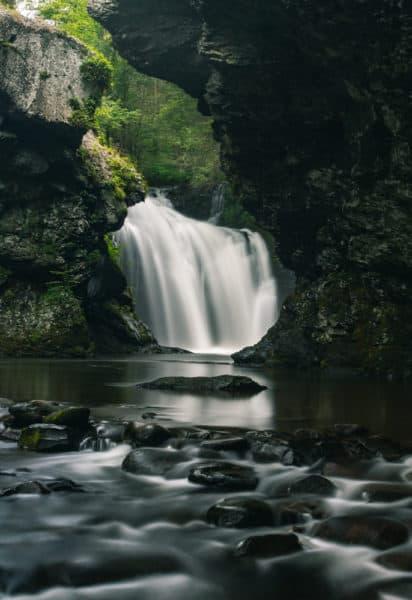 Marshall Falls near Stroudsburg, PA