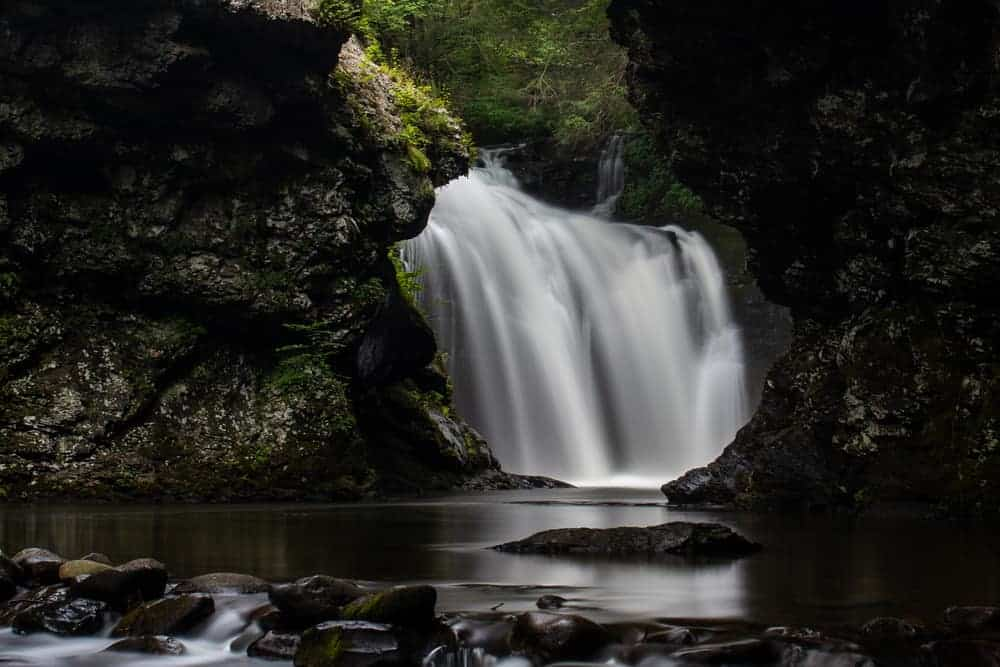 How to Get to Marshalls Falls near Stroudsburg, PA