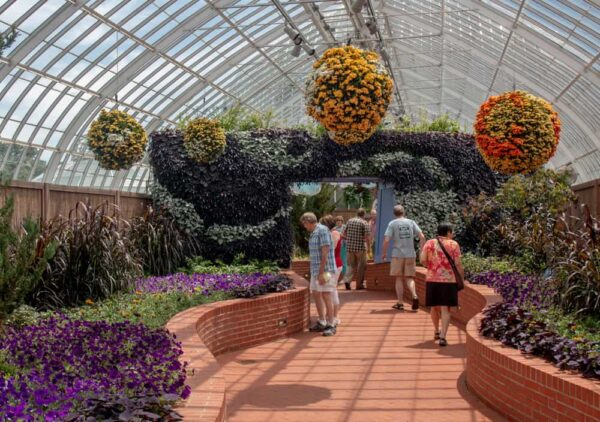 Visiting Phipps Conservatory and Botanical Gardens in Pittsburgh, PA