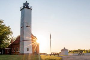 Visiting the 3 Lighthouses in Erie, PA
