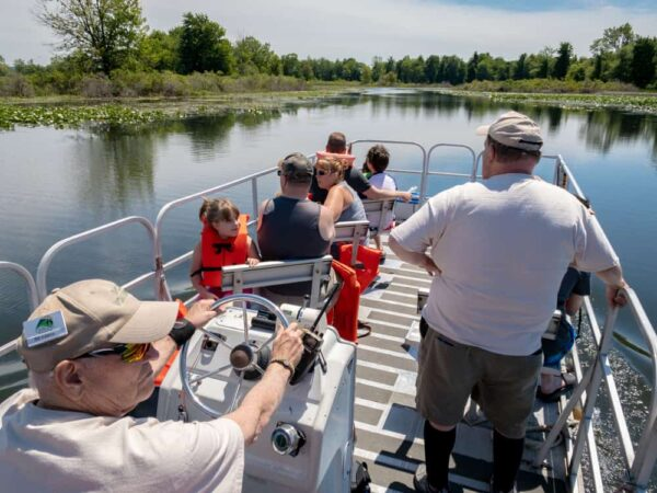 Pontoon Boat Tours are a great way to spend a day at Presque Isle State Park