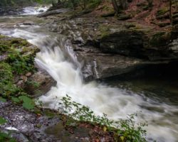 Pennsylvania Waterfalls: The Waterfalls of Rock Run in PA's McIntyre Wild Area