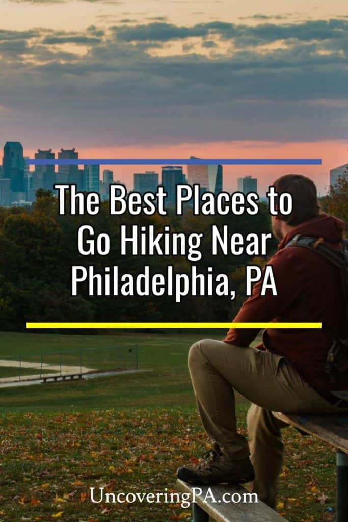 Hiking near Philadelphia, Pennsylvania