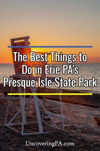 The best things to do at Presque Isle State Park in Erie, Pennsylvania