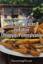 The best restaurants in Ohiopyle, Pennsylvania