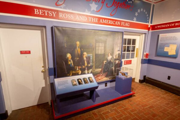 Touring the Betsy Ross House in Philadelphia, PA
