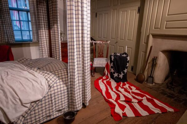 Inside the Betsy Ross House in Philly