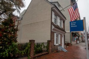 Visiting the Betsy Ross House in Philadelphia, PA