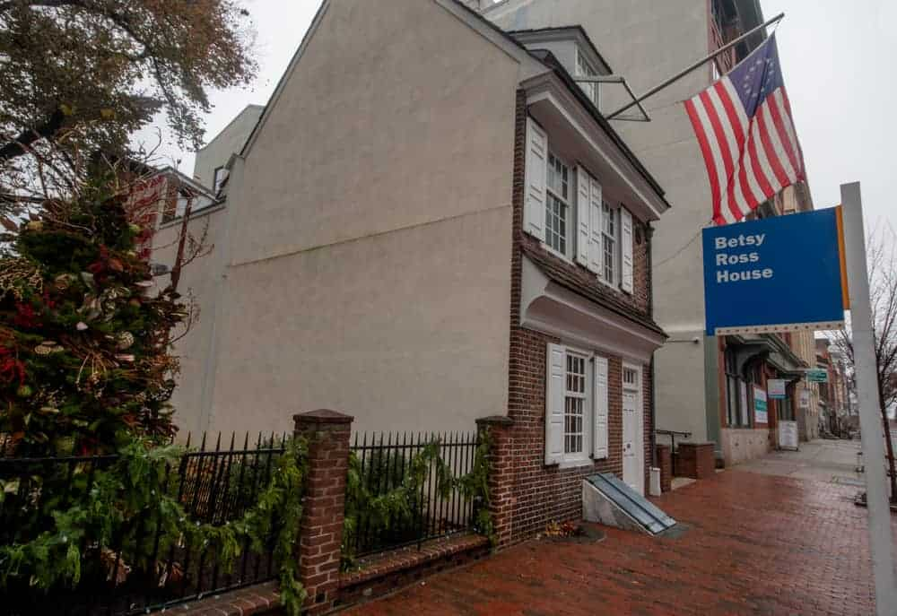 The Betsy Ross House in Philadelphia, PA