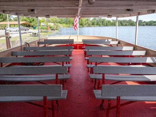 On board the Lady Kate in Presque Isle State Park